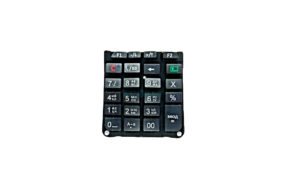P092 Keypad,Силикон и АБС рев 4 Клавиатура 92Ф